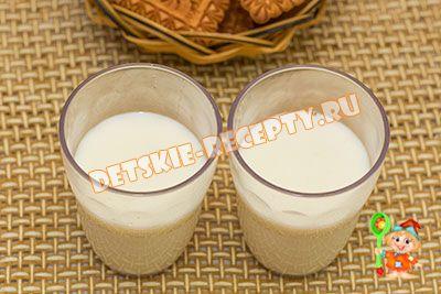 молочный кисель рецепт