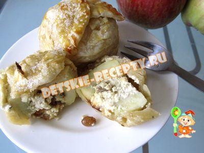 яблоки запеченные в тесте
