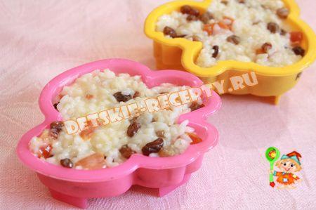сладкая рисовая запеканка