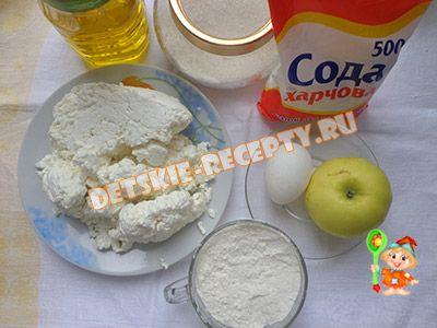 продукты для сырников с творогом