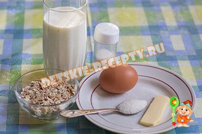 ингредиенты для детского супа на 1 год