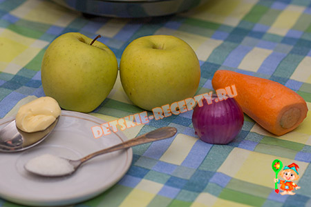 продукты для фруктово овощного супа