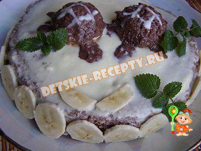 детский домашний торт рецепт
