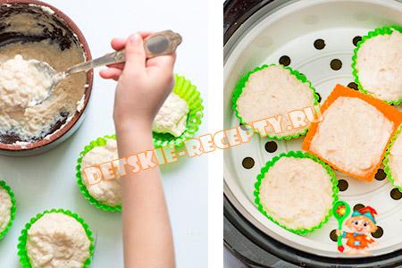 рыбное суфле для детей в мультиварке