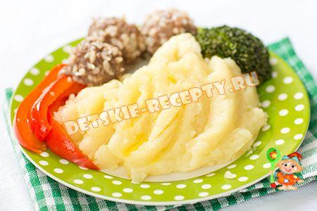 картофельное пюре в мультиварке Поларис