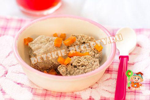 Мясное суфле в мультиварке для ребенка на пару - рецепт с фото, ДЕТСКИЕ РЕЦЕПТЫ, БЛЮДА