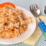 капуста с фаршем и рисом в мультиварке
