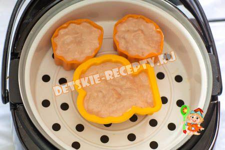суфле из индейки для детей рецепт