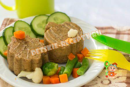 суфле из печени в мультиваркек для детей