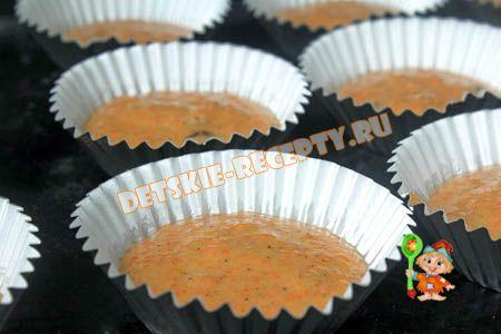 кексы для детей на день рождения