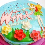 торт винкс для девочки