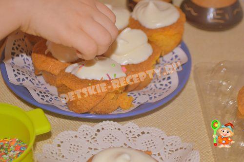 морковно апельсиновые маффины