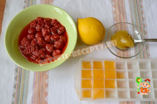 Продукты для домашнего лимонада