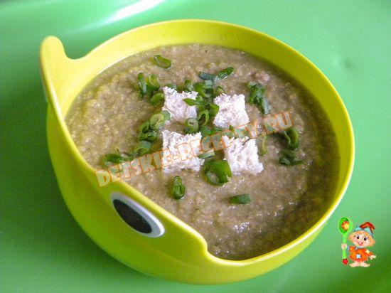 рецепт супа для ребенка 7 месяцев