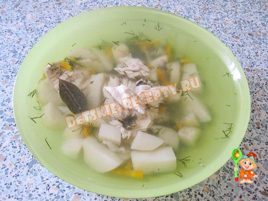 рецепты рыбы для детей