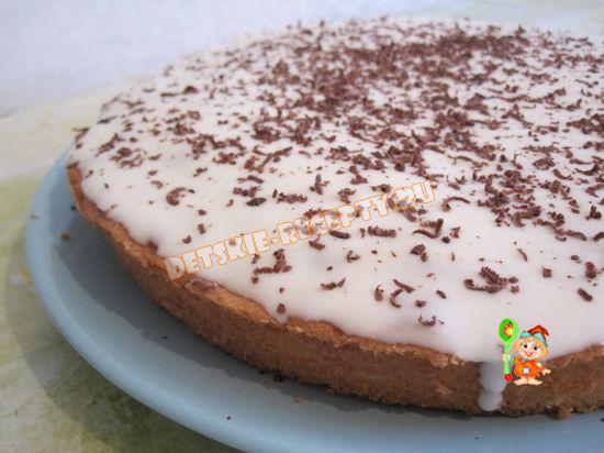 простой домашний пирог