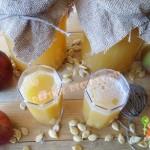 яблочно тыквенный сок на зиму