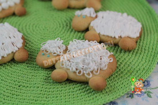 печенье овечки