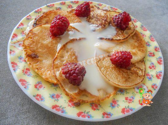 оладушки на йогурте