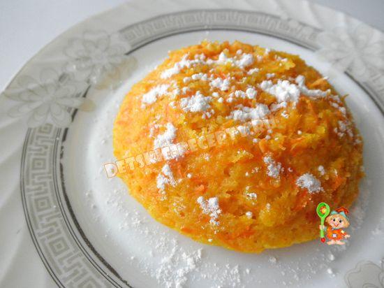морковно тыквенная запеканка