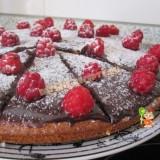 пирог с малиной простой рецепт