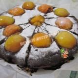 пирог с абрикосами на скорую руку