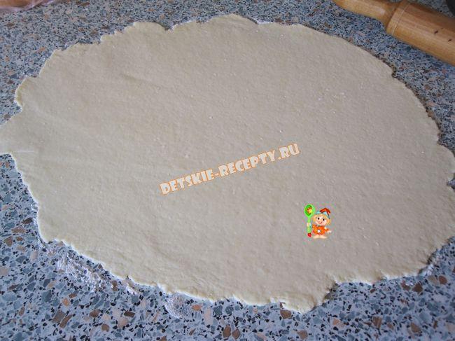 Вишнево-творожный штрудель, пошаговый рецепт с фото