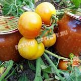 заправка из помидор и болгарского перца на зиму