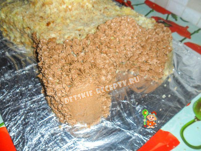 Как сделать торт мишку своими руками