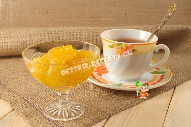 яблочное варенье с апельсином