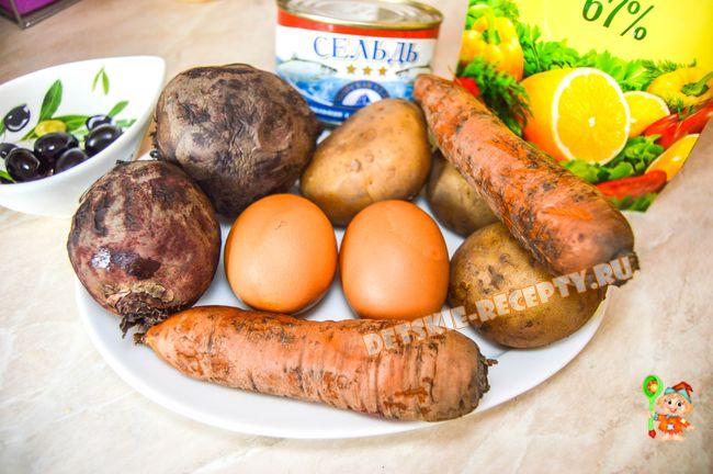 салат для любимого пошаговый рецепт с фото