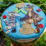 торт на детский день рождения своими руками