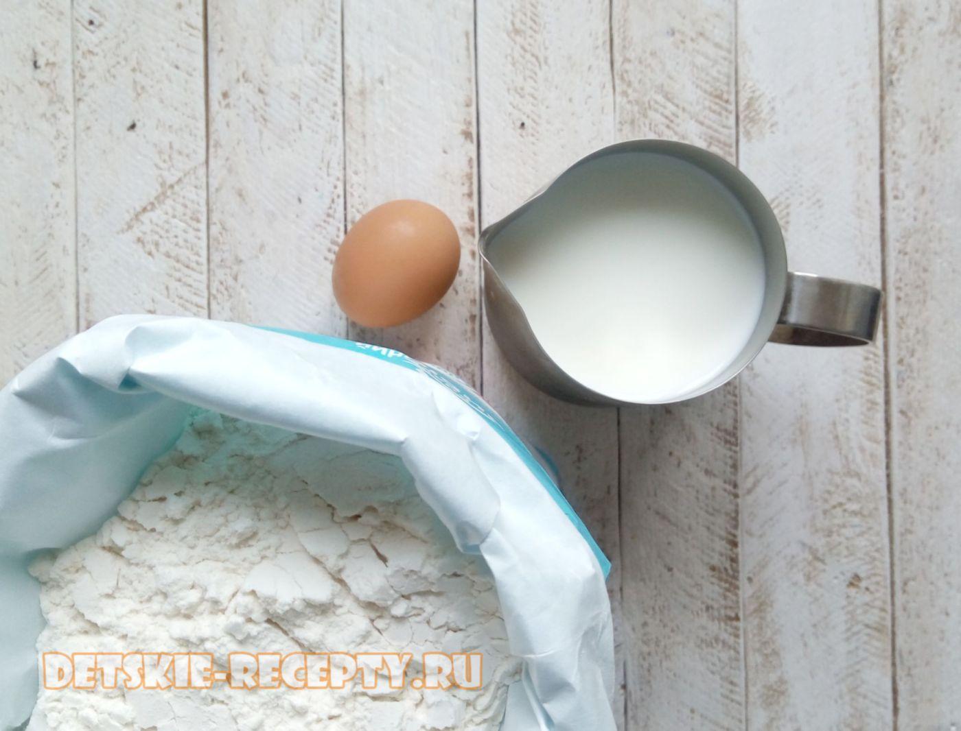продукты для молочной каши