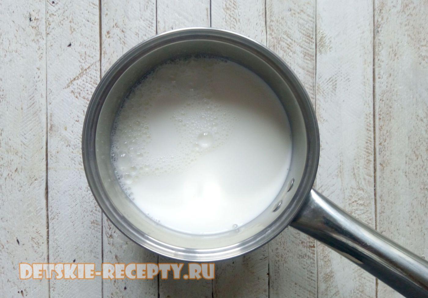 молоко для каши