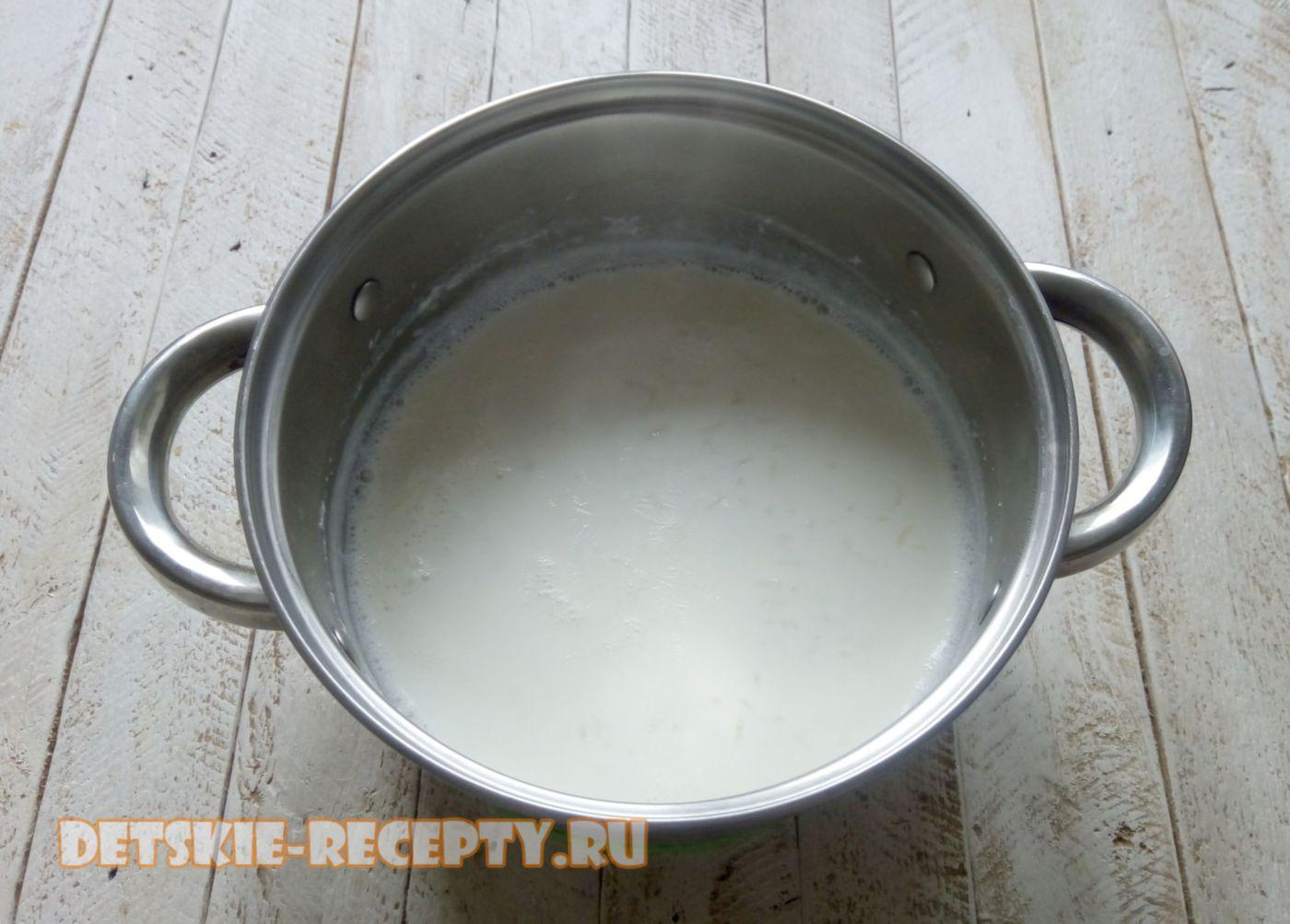 рис в молоке