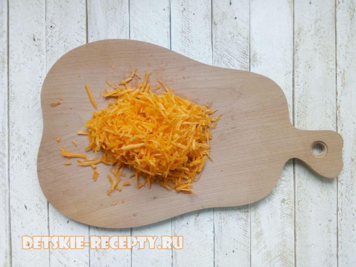 морковь для каши