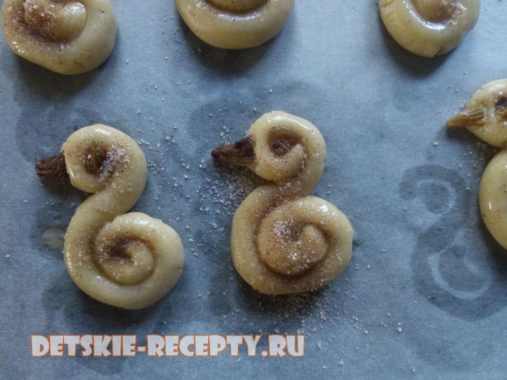 запеките печенье в духовке