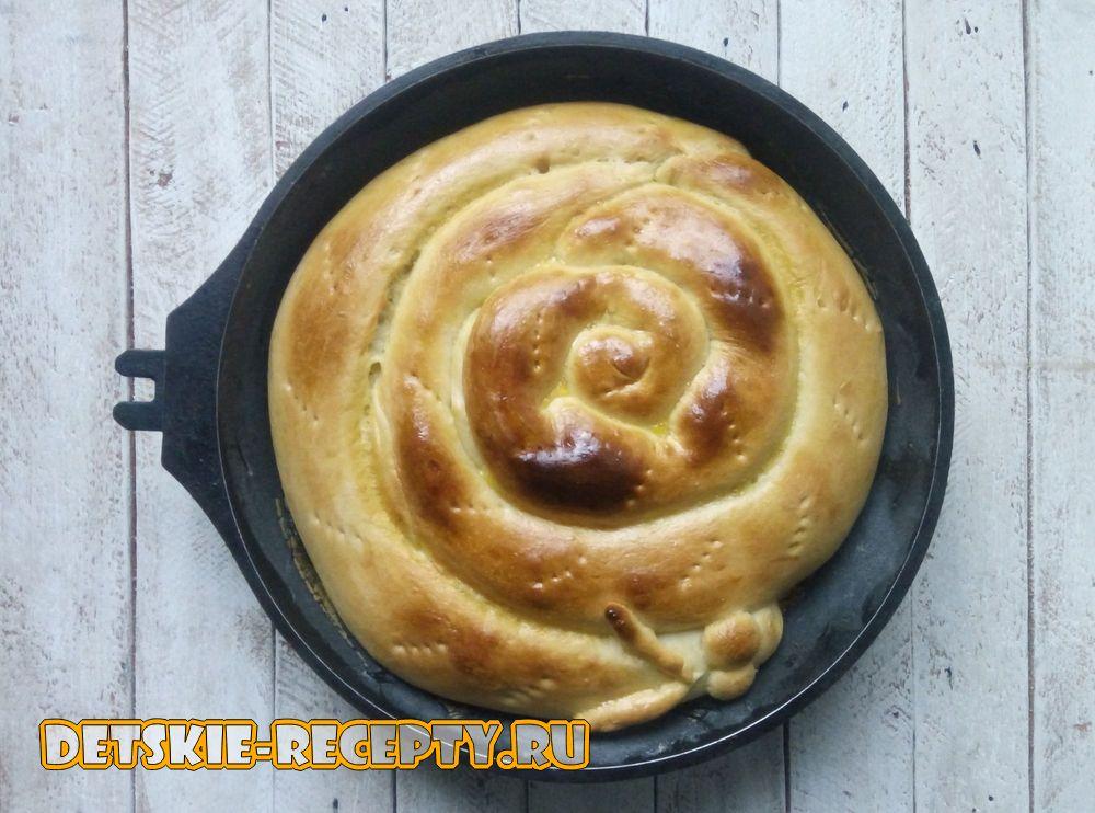 пирог с тыквой в духовке