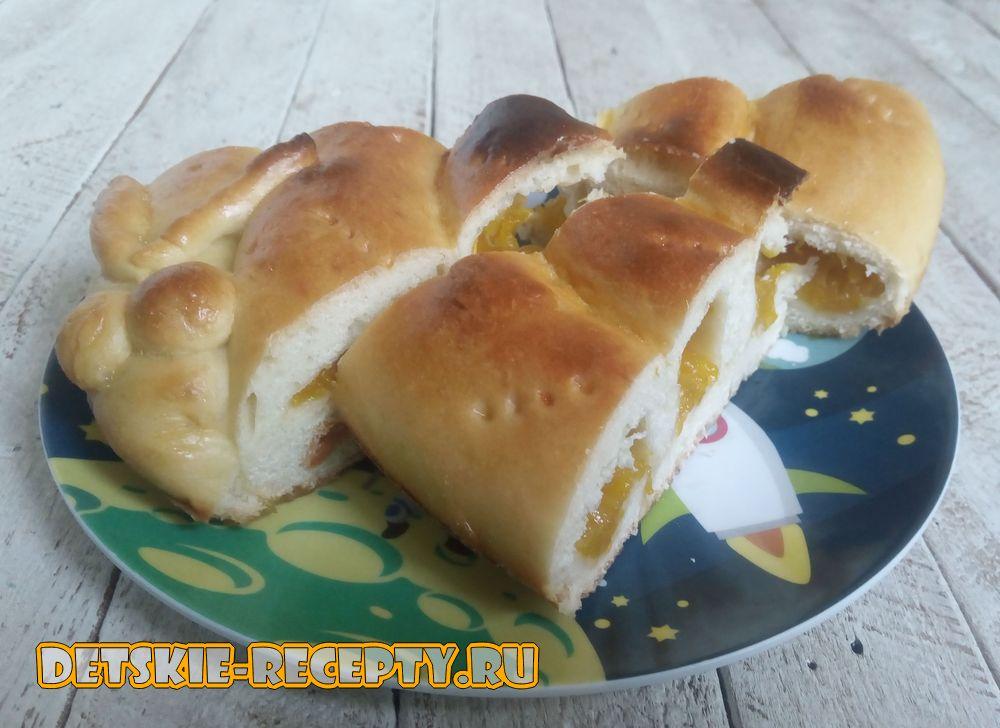 Вкусный пирог с тыквой в духовке